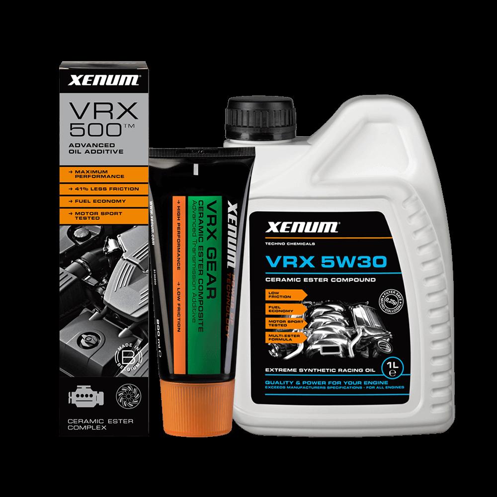 Xenum Ceramic Additives - VRX Range of ceramic oil and ceramic additive